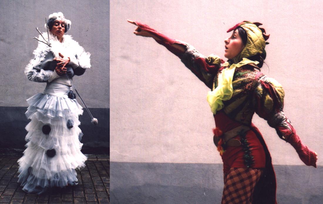 création de costumes de théâtre
